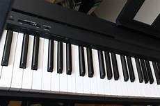 yamaha p 45b digital piano im test