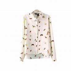 bug print blouse insect print blouse 2015 plus size brand chiffon