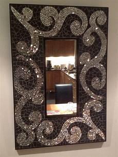 Bathroom Mirrors Mosaic by Original Mosaic Bathroom Mirror Matt Black Mirror