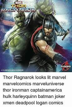 Ironman Malvorlagen Ragnarok Marvel A 16 Month 2018 Calendar Thor Ragnarok