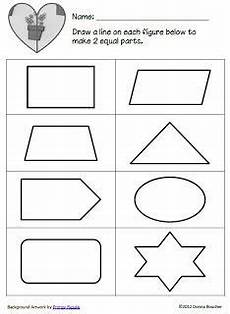 whole and half worksheets for kindergarten search math coach math fractions