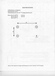 worksheet coulombs law answer key physics fundamentals