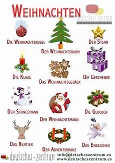 weihnachten wortschatz german grammar german language