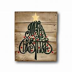 rustic christmas sign merry christmas decoration