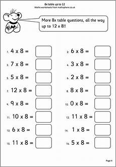 free division worksheets for year 3 6822 8x tables to 12 maths worksheet math worksheet math worksheets mathematics worksheets