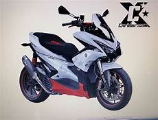 Modifikasi Motor Aerox 155 by Modifikasi Yamaha Aerox 155 Cxrider