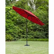astonica 9 ft solar powered patio umbrella in scarlet 50400147 web at the home depot