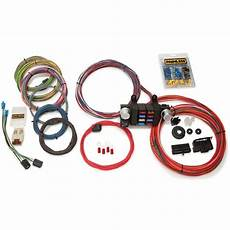 Painles Wiring Harnes Diagram Horn by Painless Wiring 10308 18 Circuit Modular Wiring Harness