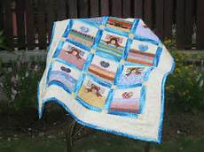 akasia home deco sleeping baby quilt