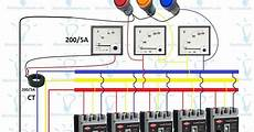 3 phase distribution board wiring diagram electrical tutorials