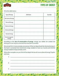 physical science worksheet conservation of energy 1 answers key 13022 forms of energy worksheet homeschooldressage
