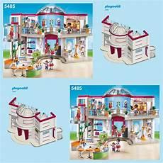 Playmobil Ausmalbilder Shopping Center Playmobil Shopping Mall 5485 5499 Spares Parts Max