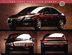 books about how cars work 1995 chrysler cirrus engine control 1995 chrysler cirrus intro sales brochure piece ebay