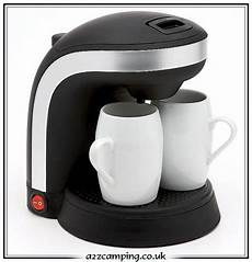new cafetiere coffee 2 x cups 12v 12 volt low watt