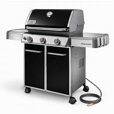 Weber Grill - weber genesis 174 e 310 gas bbq in black the home