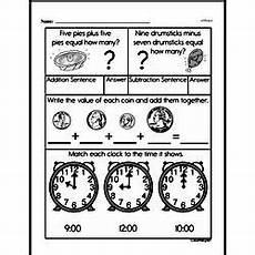 math worksheets for grade 1 money 2490 grade money math worksheets edhelper