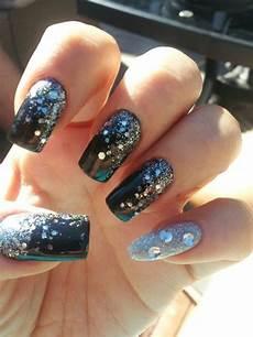 sparkle nails nail art sparkle
