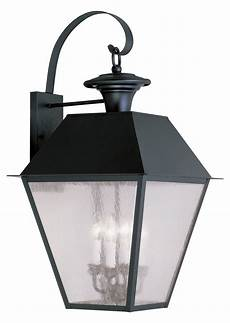 livex lighting black mansfield large outdoor wall sconce with 4 lights black 2172 04 from