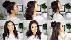 cute and easy hairstyles for medium thin hair youtube