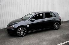Golf 7 Gti Schwarz - volkswagen golf mk7 5 door with black leather trim technik