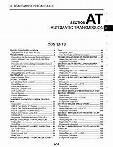 on board diagnostic system 2002 volkswagen cabriolet electronic valve timing 2003 nissan xterra automatic transmission section at pdf manual 352 pages
