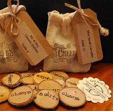 Wedding Tokens Ideas diy wedding drink tokens in burlap bags wedding ideas