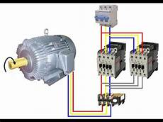 to start 3 phase induction motor with star delta starter youtube