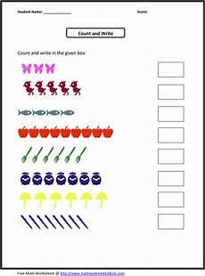 counting numbers preschool worksheets 8026 preschool math worksheets