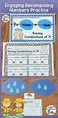 Decomposing Numbers 3 10 Center Activity Equation Boards