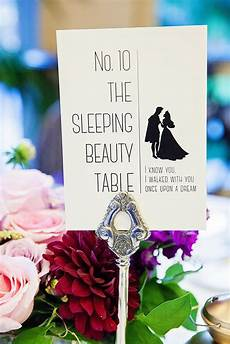 disney wedding table name ideas chwv