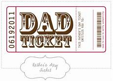fathers day card template printable nellie design free printable s day tickets