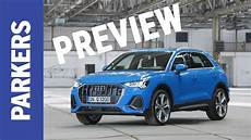 audi q3 2019 unveiled baby audi suv borrows tech from