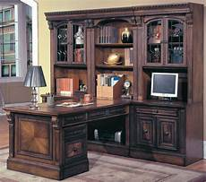 house huntington home office suite 8pc peninsula group with file cabinet ph hun 8pglass