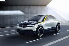 Opel To Use Gt X Experimental Compass And Vizor Design On