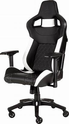 gamme seat 2018 t1 race 2018 gaming chair black white