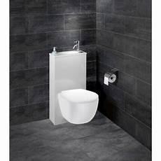 toilette avec lavabo intégré wc suspendu wc abattant et lave mains toilette au