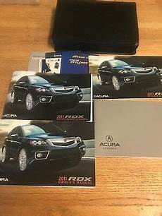 buy car manuals 2011 acura tsx user handbook 2011 acura rdx owners manual set with cover case free shipping ebay