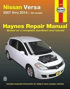 motor auto repair manual 2012 nissan versa on board diagnostic system nissan versa repair manual 2007 2014 haynes best price