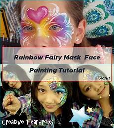 Rainbow Mask Painting Tutorial Painting