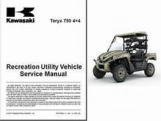 2009 kawasaki teryx wiring diagram 2008 2009 kawasaki teryx 750 4x4 krf750 utv service manual on a cd for sale item 1719871