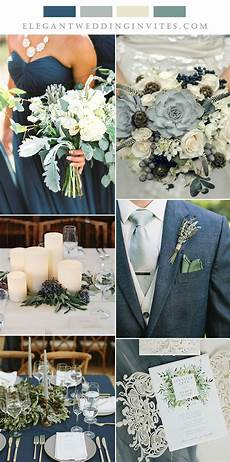 6 Beautiful Wedding Colors With Neutral Green Matching Invitations