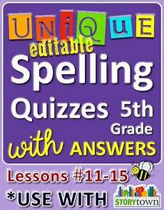 spelling worksheets grade 11 22674 storytown grade 5 unique editable spelling quizzes w answers lessons 11 15 spelling