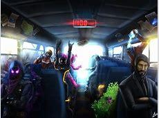 """Adam Sean on Twitter: """"Fortnite fanart of the Battle Bus"""