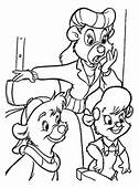 Rebecca Is In Shock Coloring Page  Free Printable