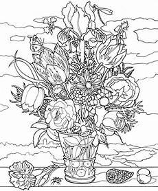 Acryl Malvorlagen Blumen Ine Leinwand Malvorlage Auf Keilrahmen Ambrosius