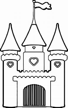 cinderella castle drawing free on clipartmag