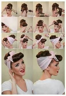 Rockabilly Frisuren Anleitung - pin su capelli