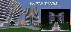 modern hotel white tower by orionn100 minecraft project
