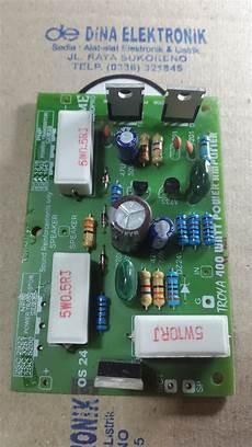 400 Watt Lifier Kit | jual kit driver power amplifier sanken mono 400 watt di lapak dina elektronik imamrofii