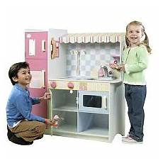 Kitchen Playset Toys R Us by Just Like Home All In One Wood Kitchen Toys